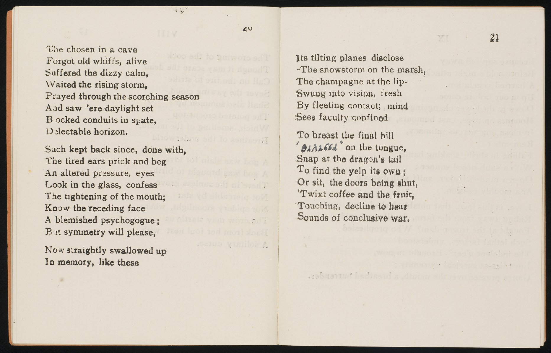 Pages from Auden's Poems