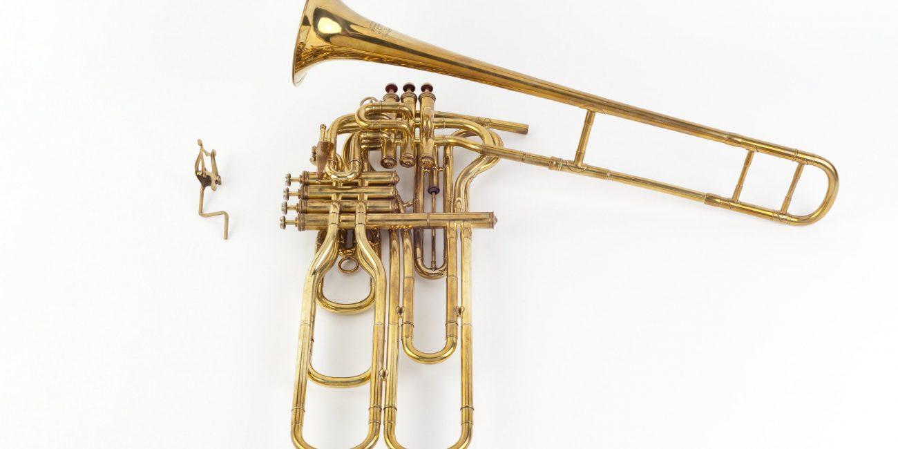 Valved trombone