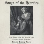 Publicity leaflet for Marjory Kennedy-Fraser and Patuffa Kennedy-Fraser